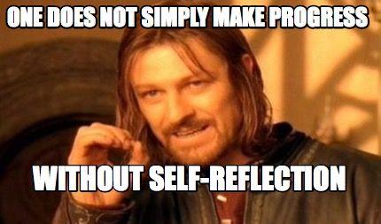 Time for self-reflection - MMM v2-31